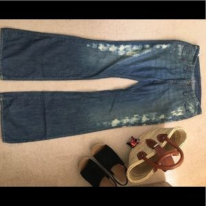 NWOt POLO JEANS RALPH LAUREN WOMENS FLARE JEANS  8